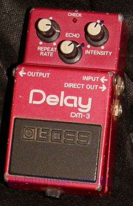 BOSS Japan DM-3 Analog Delay