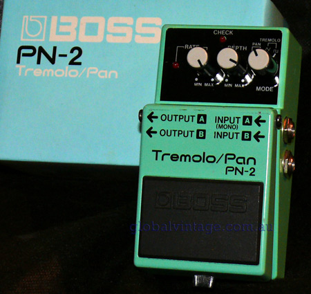 BOSS Taiwan PN-2 Tremolo Pan w/orig box
