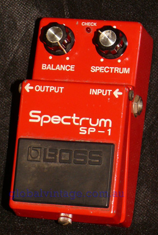 BOSS Japan SP-1 Spectrum