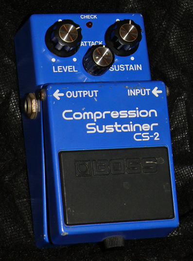 ~SOLD~BOSS Japan CS-2 Compressor Sustainer April `85