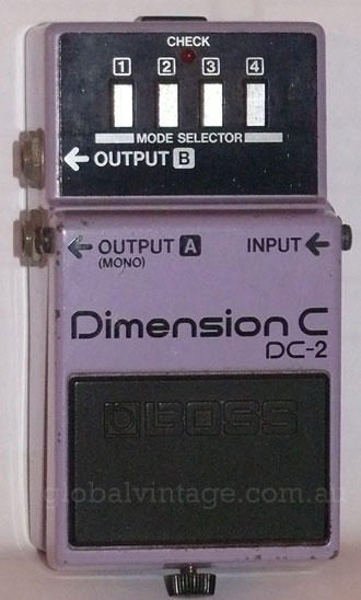 ~SOLD~BOSS Japan DC-2 Dimension C