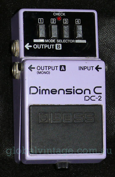 ~SOLD~BOSS DC-2 Dimension C Stereo Chorus Effect