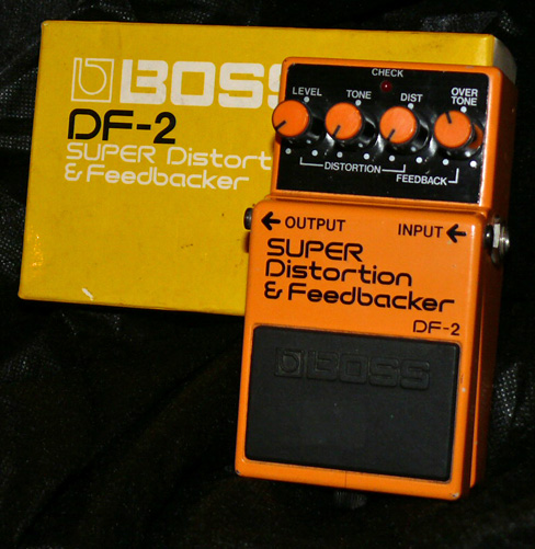 ~SOLD~BOSS Japan DF-2 Super Distortion & Feedbacker October `84
