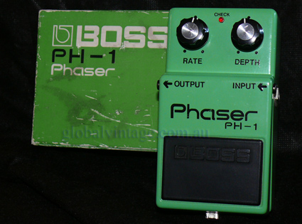 BOSS Japan `79 PH-1 Phaser w/box Silver Screw Era