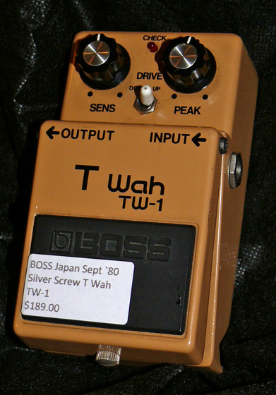 BOSS Japan TW-1 T Wah Sept `80
