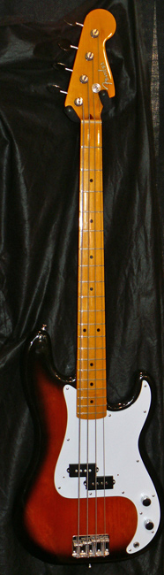 "Fender Japan C.I.J. ""Q"" series `57 Precision Bass Reissue"