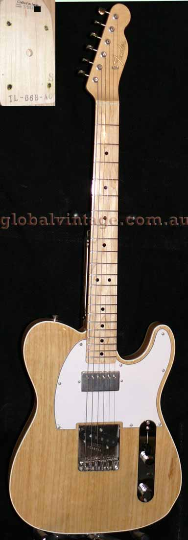 "~SOLD~Fender Japan C.I.J. ""S"" series `Albert Collins' `66 Teleca"