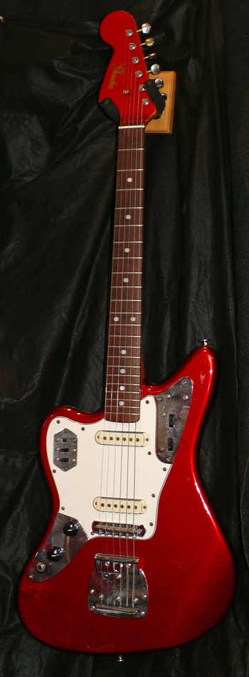"~SOLD~Fender Japan C.I.J. ""A"" series Jaguar R.I. LEFT HANDED"