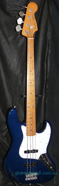 "Fender Japan C.I.J. ""O"" series `62 Jazz Bass Reissue-Limited Edi"