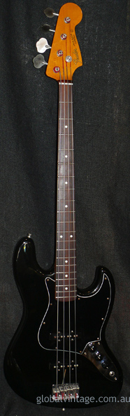 "Fender Japan C.I.J. ""O"" series `62 Jazz Bass reissue Black"