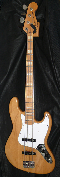 ~SOLD~Fender Japan C.I.J. ''O'' series `75 Jazz Bass reissue