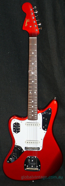 "Fender Japan C.I.J. ""O"" series LEFT HANDED `66 Jaguar R.I."