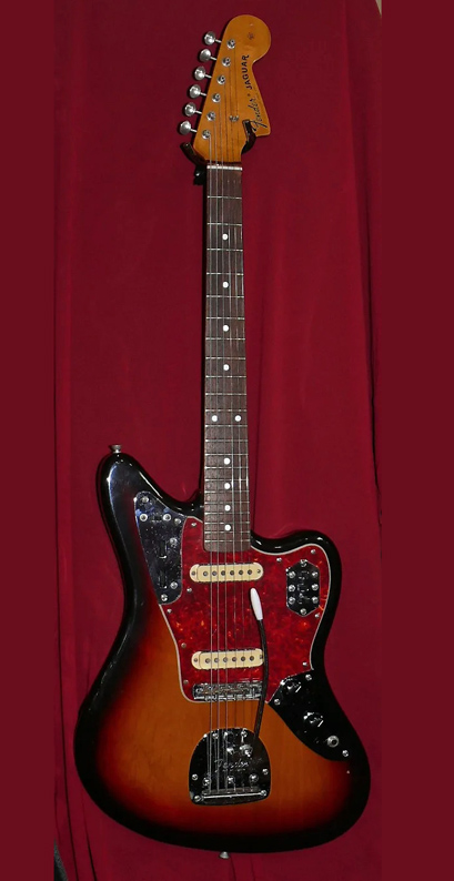 "Fender Japan C.I.J. ""O"" series `66 Jaguar Reissue. Sunburst"