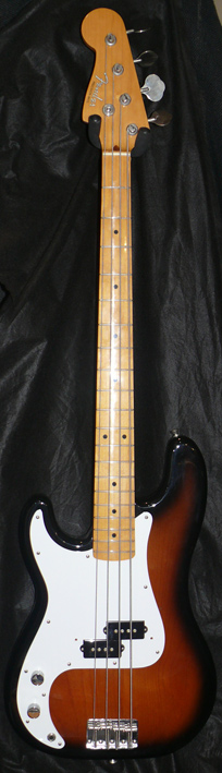 "~SOLD~Fender Japan C.I.J. ""O"" series `57 Precsion Bass R.I. LEFT"