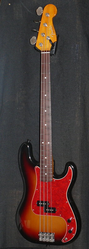 "Fender Japan C.I.J. ""O"" series `62 Precision Bass R.I. Sunburst"
