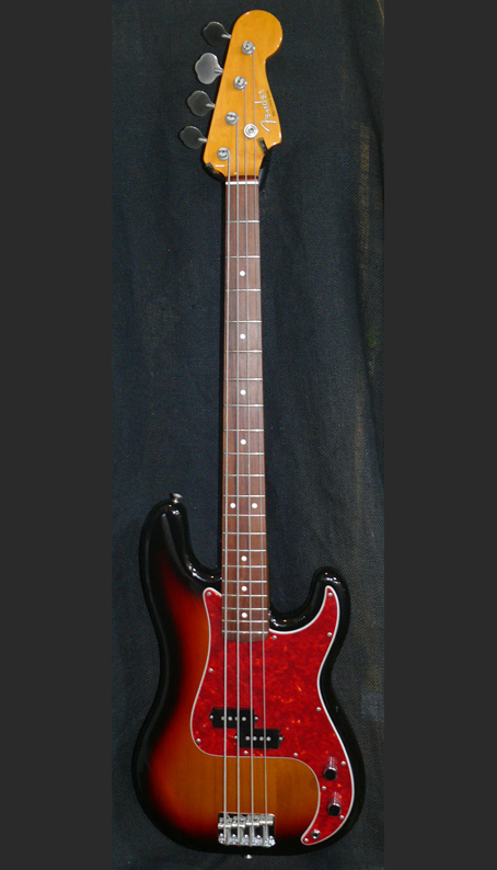 "Fender Japan C.I.J. ""R"" series `62 Precision Bass reissue"