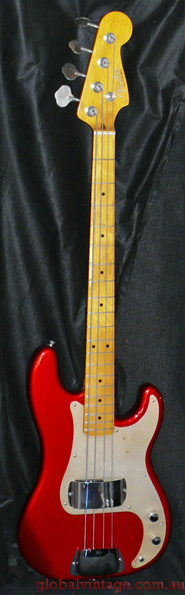 "~SOLD~ Fender Japan C.I.J. ""P"" series `57 Precsion Bass R.I."