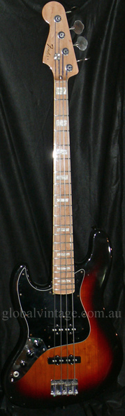 "~SOLD~Fender Japan C.I.J. ""P"" series `75 Jazz Bass R.I. LEFTY le"