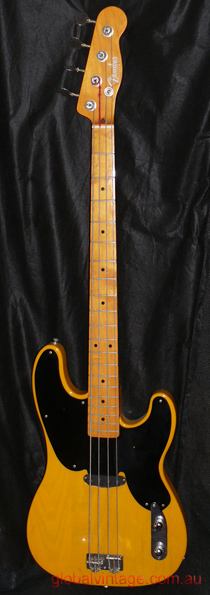 "~SOLD~Fender Japan C.I.J. ""P"" Original Precision Bass - Buttersc"