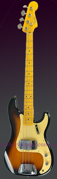 "~SOLD~Fender Japan C.I.J. ""P"" series `57 Precision Bass R.I."