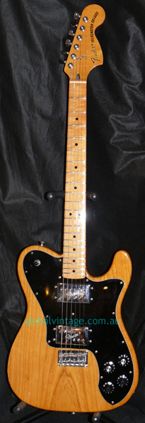~HOLD~Fender Japan C.I.J. P series `72 Telecaster Deluxe Reissue