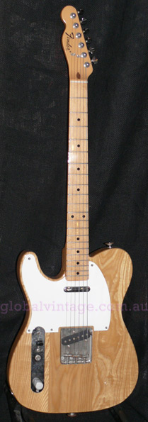 "Fender Japan C.I.J. ""P"" series `72 Telecaster reissue LEFTY TL72"