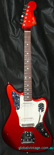 Fender Japan C.I.J. Q series Jaguar Reissue Candy Apple Red