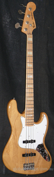 Fender Japan C.I.J. 'Q' series `75 Jazz Bass R.I.