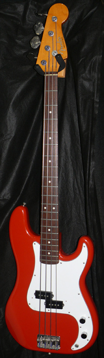 "~SOLD~Fender Japan C.I.J. ""Q"" series `62 Precision Bass Reissue"
