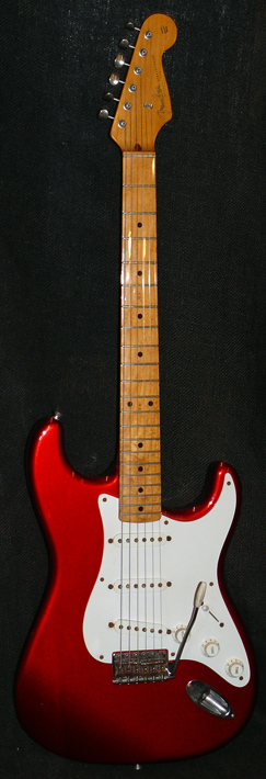 "Fender Japan C.I.J. ""Q"" series `57 Strat Reissue"