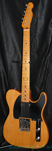 "Fender Japan C.I.J. ""Q"" series `52 Telecaster"
