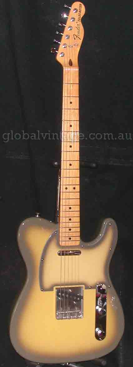 "~SOLD~Fender Japan C.I.J. ""Q"" series `72 Telecaster R.I. Antigua"