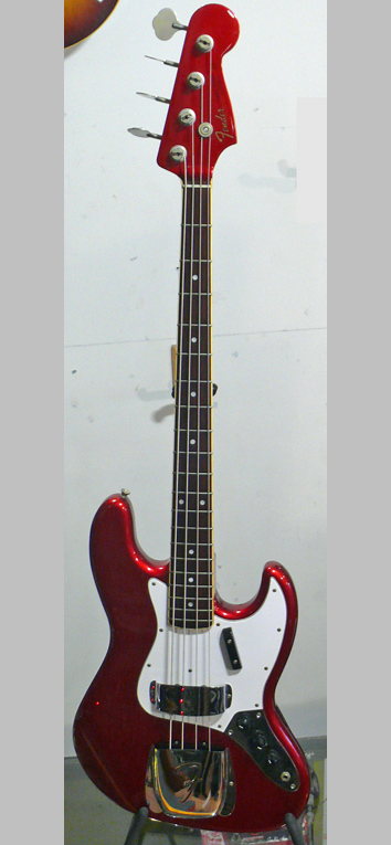 "Fender Japan C.I.J. ""R'' series `65 Jazz Bass Reissue"