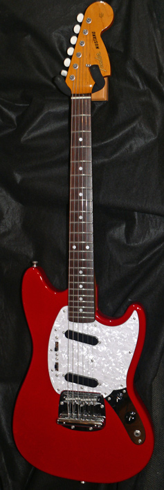 "Fender Japan C.I.J. ""R"" series `66 Mustang Reissue"