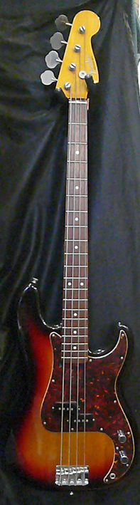 "Fender Japan C.I.J. ""R""series `62 Precision Bass R.I."
