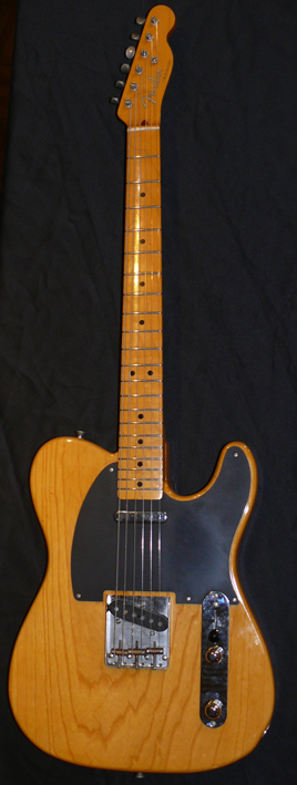 "Fender Japan C.I.J. ""S"" series `52 Telecaster reissue"