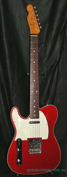"Fender Japan C.I.J. ""S"" series LEFTY `62 Telecaster Custom reiss"
