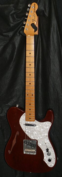 "Fender Japan C.I.J. ""S"" series `70 Thinline Telecaster Reissue M"