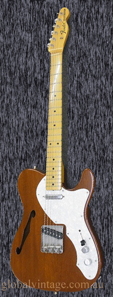 "Fender Japan C.I.J. ""P"" series `70 Telecaster Thinline Reissue-M"