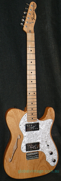 Fender Japan C.I.J. S series `72 Thinline reissue
