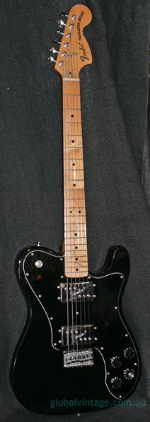 ~HOLD~Fender Japan C.I.J. `72 Telecaster Deluxe reissue - Black
