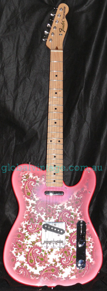 "~SOLD~Fender Japan C.I.J. ""S"" series `69 Paisley Telecaster R.I."