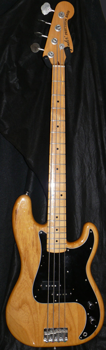 "Fender Japan M.I.J. ""T"" series `70s Precision Bass R.I."
