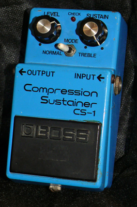 ~SOLD~BOSS Japan CS-1 Compression Sustainer