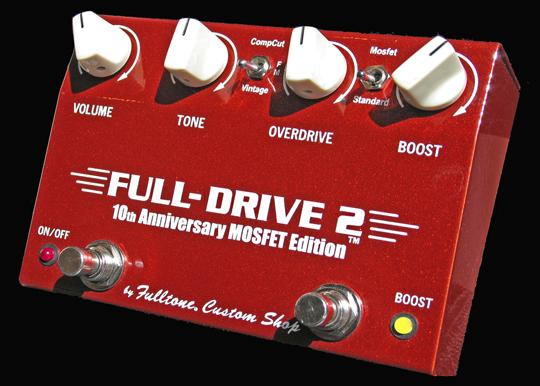 Fulltone Custom Shop Full-Drive II Mosfet