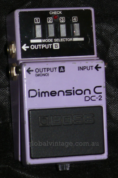 BOSS Japan DC-2 Dimension