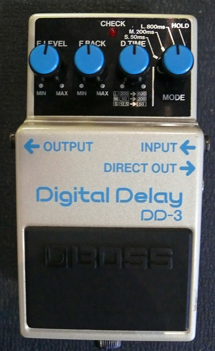 BOSS Japan `87 DD-3 Digital Delay
