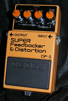 BOSS Japan DF-2 Super Feedbacker & Distortion