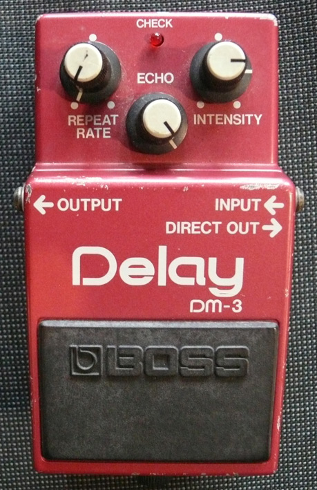 BOSS Japan `84 DM-3 Delay