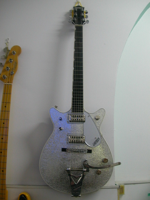 ~SOLD~Gretsch '62 Silver Jet Reissue